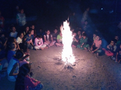 View the album Annual Trip to Camp Zarwani for class IV