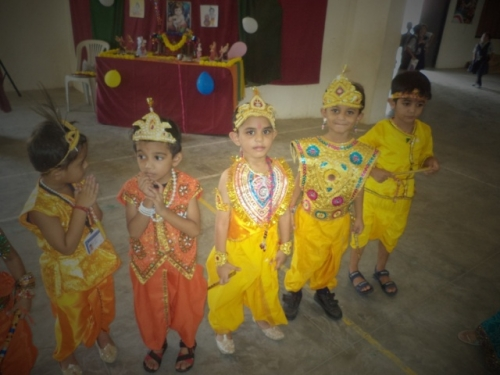 View the album Pre-primary Janmashtami Celebration