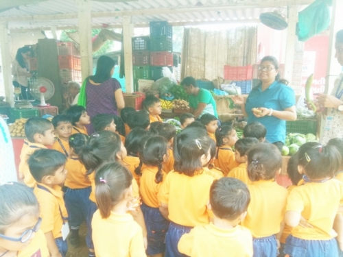 View the album Field Trip to Vegetable Market (Class Nursery on 30th July 2018)
