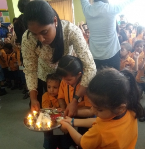 View the album Ganesh Chaturthi Celebration in Pre-primary section