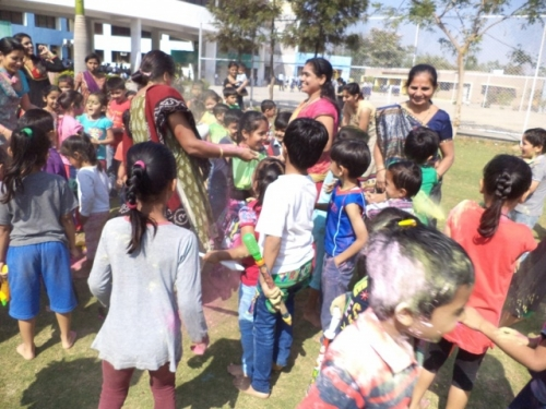 View the album Holi with moms on 5th March 2015