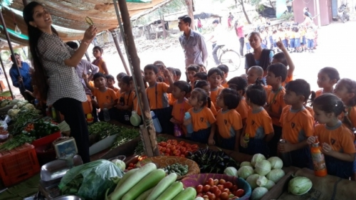 View the album Nursery & UKG field trip to Veg. market on 9th July 2015