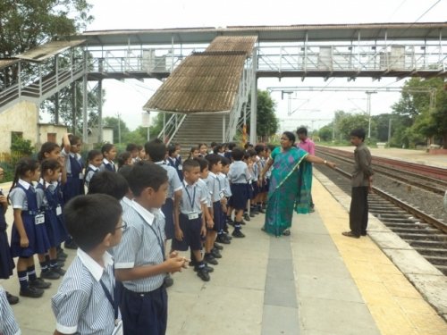 View the album Visit to the railway station class I on 14th August 2015